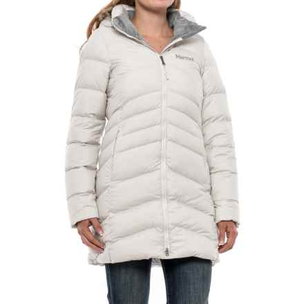Marmot Quebec Down Coat - 700 Fill Power (For Women) in Whitestone - Closeouts