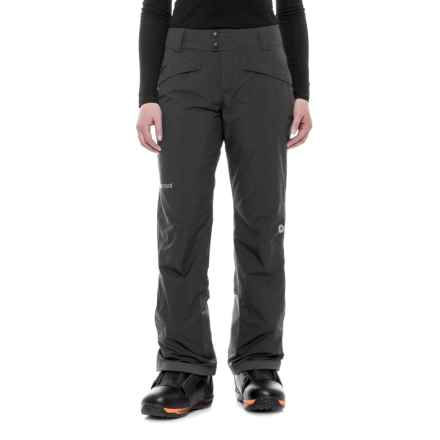 Marmot Radiance Pants - Waterproof, Insulated (For Women) in Black - Closeouts