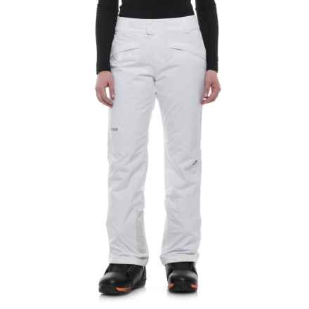 Marmot Radiance Pants - Waterproof, Insulated (For Women) in White - Closeouts