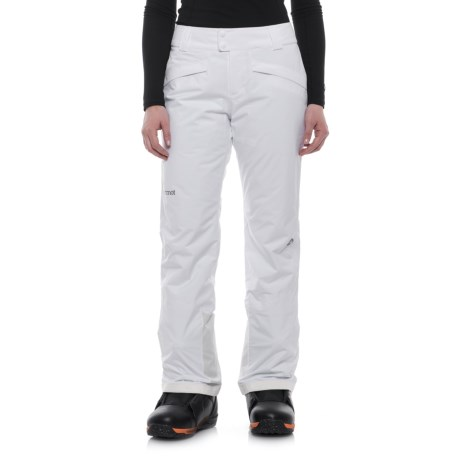 Marmot Radiance Pants - Waterproof, Insulated (For Women) in White