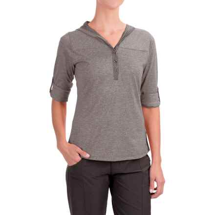 Marmot Raena Shirt - UPF 20, Long Sleeve (For Women) in Dark Charcoal - Closeouts