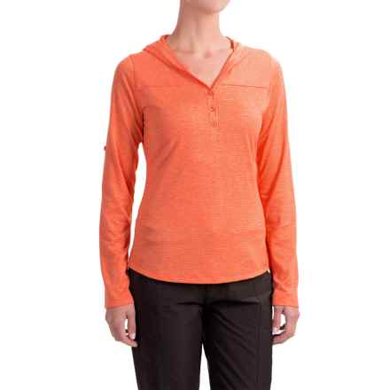Marmot Raena Shirt - UPF 20, Long Sleeve (For Women) in Nasturtium - Closeouts