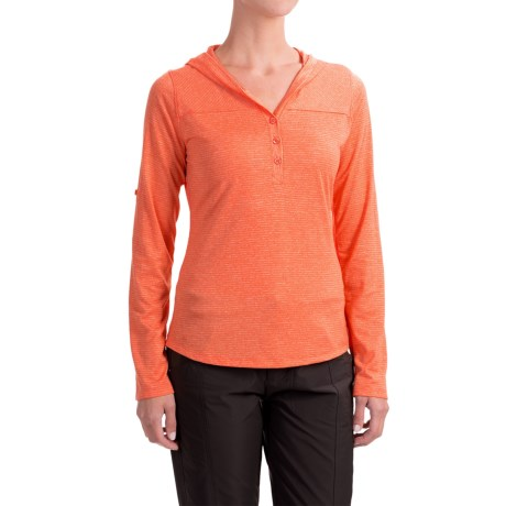 Marmot Raena Shirt - UPF 20, Long Sleeve (For Women) in Nasturtium