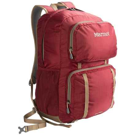 Marmot Railtown Backpack in Brick/Cavalry Brown - Closeouts