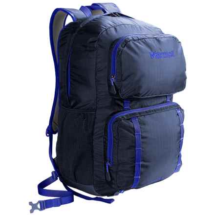Marmot Railtown Backpack in Vintage Navy/Cobalt Blue - Closeouts