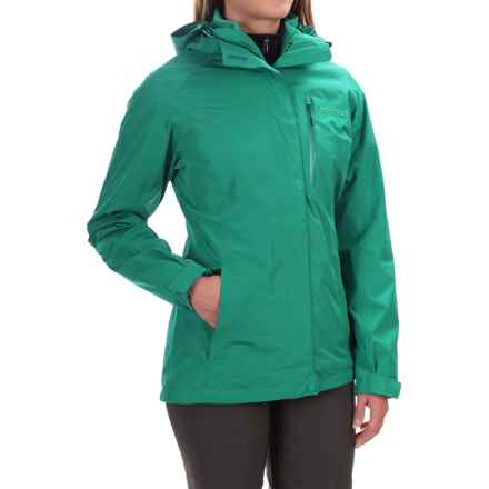 Marmot Ramble 3-in-1 Jacket - Waterproof (For Women) in Green Garnet - Closeouts