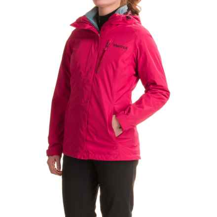 Marmot Ramble Component Jacket - Waterproof, Insulated, 3-in-1 (For Women) in Persian Red - Closeouts