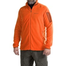 Marmot Reactor Jacket - Polartec® Fleece (For Men) in Sunset Orange - Closeouts