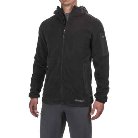 Marmot Reactor Polartec® Fleece Hoodie - Zip Front (For Men) in Black - Closeouts