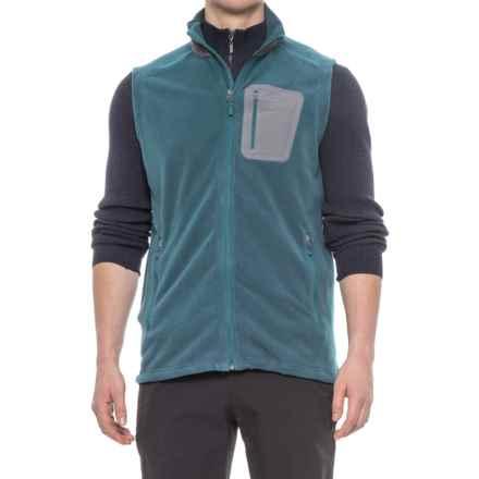 Marmot Reactor Vest - Polartec® Fleece (For Men) in Denim - Closeouts