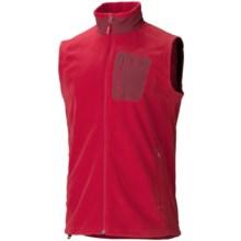 Marmot Reactor Vest - Polartec® Fleece (For Men) in Team Red - Closeouts