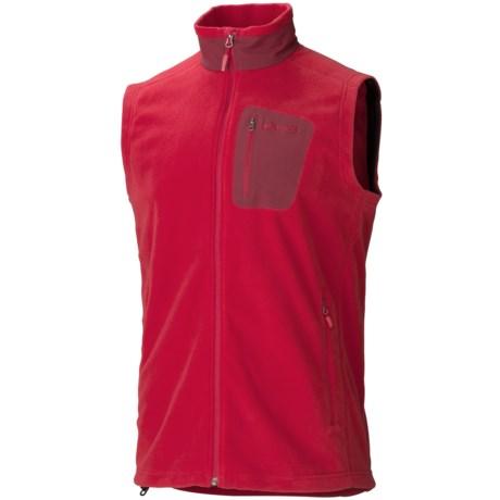Marmot Reactor Vest - Polartec® Fleece (For Men) in Team Red