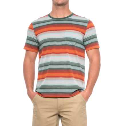 Marmot Red Rock Shirt - UPF 30, Short Sleeve (For Men) in Moon River - Closeouts