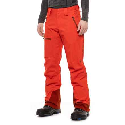 Marmot Refuge Ski Pants - Waterproof (For Men) in Mars Orange - Closeouts