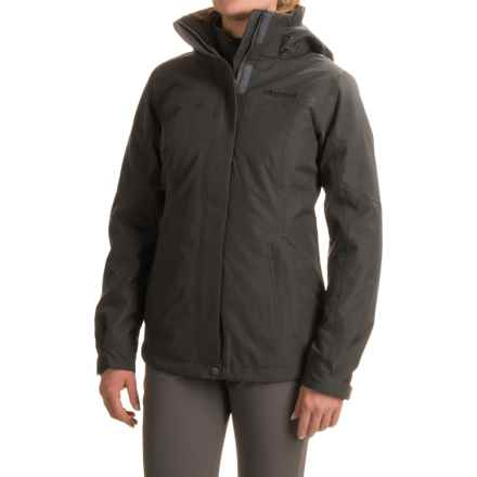 Marmot Regina Jacket - Waterproof, Insulated, 3-in-1 (For Women) in Steel Onyx - Closeouts