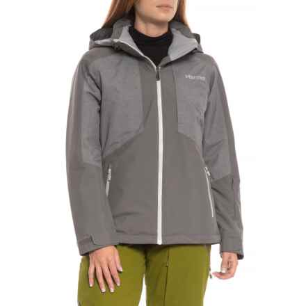 Marmot Repose Featherless Insulation Jacket - Waterproof, 700 Fill Power (For Women) in Cinder - Closeouts