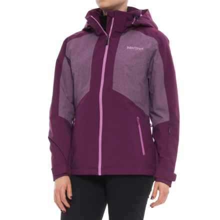 Marmot Repose Featherless Insulation Jacket - Waterproof, 700 Fill Power (For Women) in Deep Plum - Closeouts