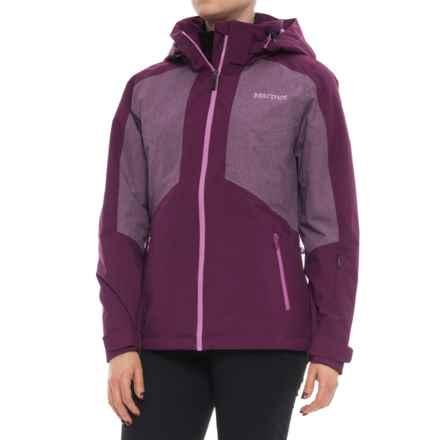 Marmot Repose Featherless Insulation Jacket - Waterproof, 700 Fill Power (For Women) in Deep Plum - Closeouts