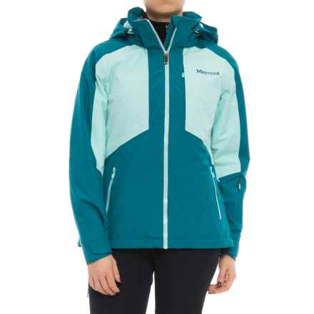 Marmot Repose Featherless Jacket - Waterproof, Insulated (For Women) in Late Night/Blue Tint - Closeouts
