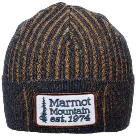 Marmot Retro Trucker Beanie (For Men) in Dark Indigo - Closeouts