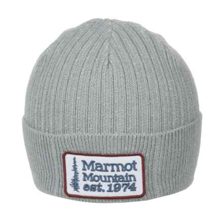Marmot Retro Trucker Beanie (For Men) in Grey Storm - Closeouts