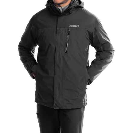 Marmot Ridge Component Jacket - Waterproof, 3-in-1 (For Men) in Black - Closeouts