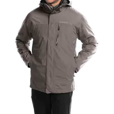 Marmot Ridge Component Jacket - Waterproof, 3-in-1 (For Men) in Cinder - Closeouts