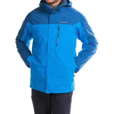 Marmot Ridge Component Jacket - Waterproof, 3-in-1 (For Men) in Cobalt Blue/Blue Night - Closeouts