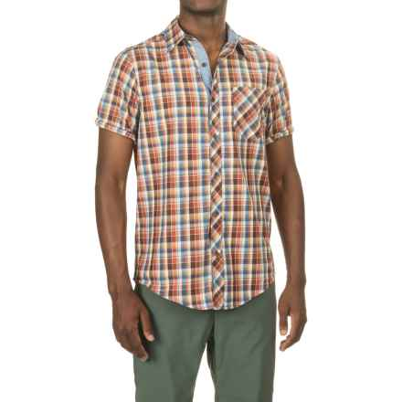 Marmot Ridgecrest Shirt - UPF 35, Short Sleeve (For Men) in Brick - Closeouts