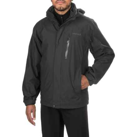 Marmot Ridgetop Component Jacket - Waterproof, 3-in-1 (For Men) in Black - Closeouts