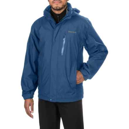 Marmot Ridgetop Component Jacket - Waterproof, 3-in-1 (For Men) in Blue Night - Closeouts