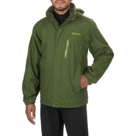 Marmot Ridgetop Component Jacket - Waterproof, 3-in-1 (For Men) in Greenland - Closeouts