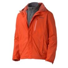 Marmot Ridgetop Component Jacket - Waterproof, 3-in-1 (For Men) in Orange Haze - Closeouts
