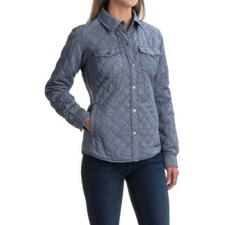 Marmot Riley Insulated Shirt - Snap Front, Long Sleeve (For Women) in Arctic Navy - Closeouts
