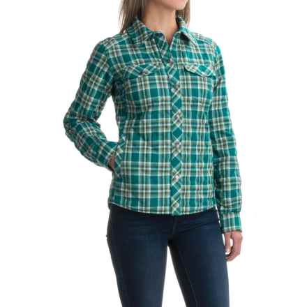 Marmot Riley Insulated Shirt - Snap Front, Long Sleeve (For Women) in Everglade - Closeouts