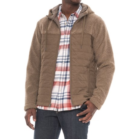 Marmot Rivendell Hooded Jacket - Insulated (For Men) in Desert Khaki/Cavern