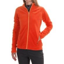 Marmot Rocklin Fleece Jacket - Full Zip (For Women) in Coral Sunset - Closeouts