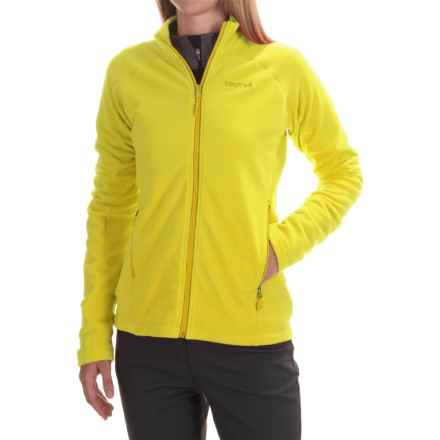 Marmot Rocklin Fleece Jacket - Full Zip (For Women) in Sunlight - Closeouts