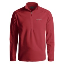 Marmot Rocklin Fleece Pullover Shirt - Zip Neck, Long Sleeve (For Men) in Fire - Closeouts