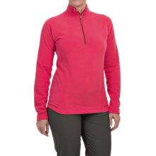 Marmot Rocklin Fleece Pullover Shirt - Zip Neck, Long Sleeve (For Women) in Summer Pink - Closeouts