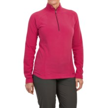Marmot Rocklin Fleece Shirt - Zip Neck, Long Sleeve (For Women) in Raspberry - Closeouts