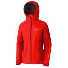 Marmot ROM Jacket - Windstopper® (For Women) in Cherry Tomato/Team Red - Closeouts