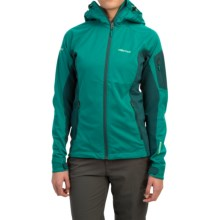 Marmot ROM Jacket - Windstopper® (For Women) in Green Garnet/Gator - Closeouts