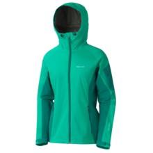 Marmot ROM Jacket - Windstopper® (For Women) in Lush/Emerald Green - Closeouts