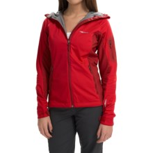 Marmot ROM Jacket - Windstopper® (For Women) in Team Red/Dark Crimson - Closeouts