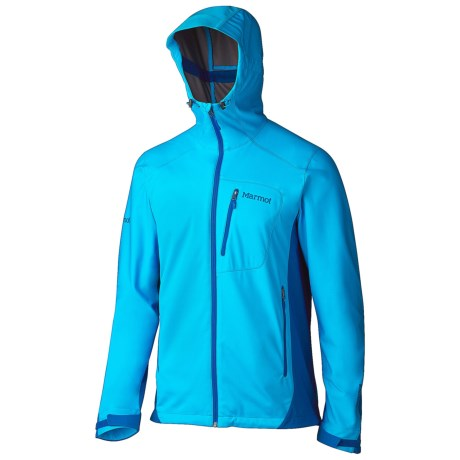 Marmot ROM Soft Shell Jacket - Windstopper® (For Men) in Atomic Blue/Blue Sapphire