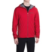 Marmot ROM Soft Shell Jacket - Windstopper® (For Men) in Team Red/Dark Crimson - Closeouts