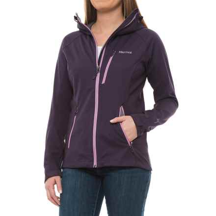 Marmot ROM Soft Shell Jacket - Windstopper® (For Women) in Nightshade - Closeouts