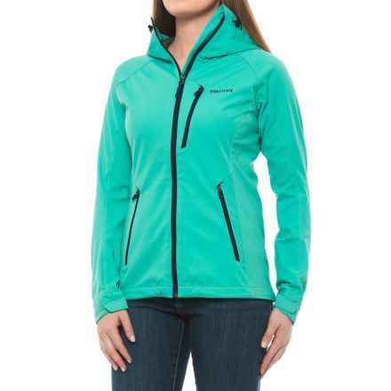 Marmot ROM Soft Shell Jacket - Windstopper® (For Women) in Waterfall - Closeouts