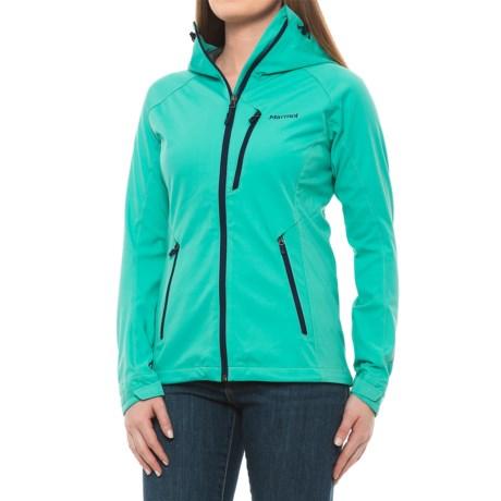 Marmot ROM Soft Shell Jacket - Windstopper® (For Women) in Waterfall